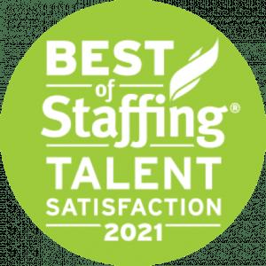 Best of Staffing Award 2021